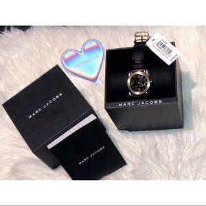 Marc Jacobs leather wrist watch